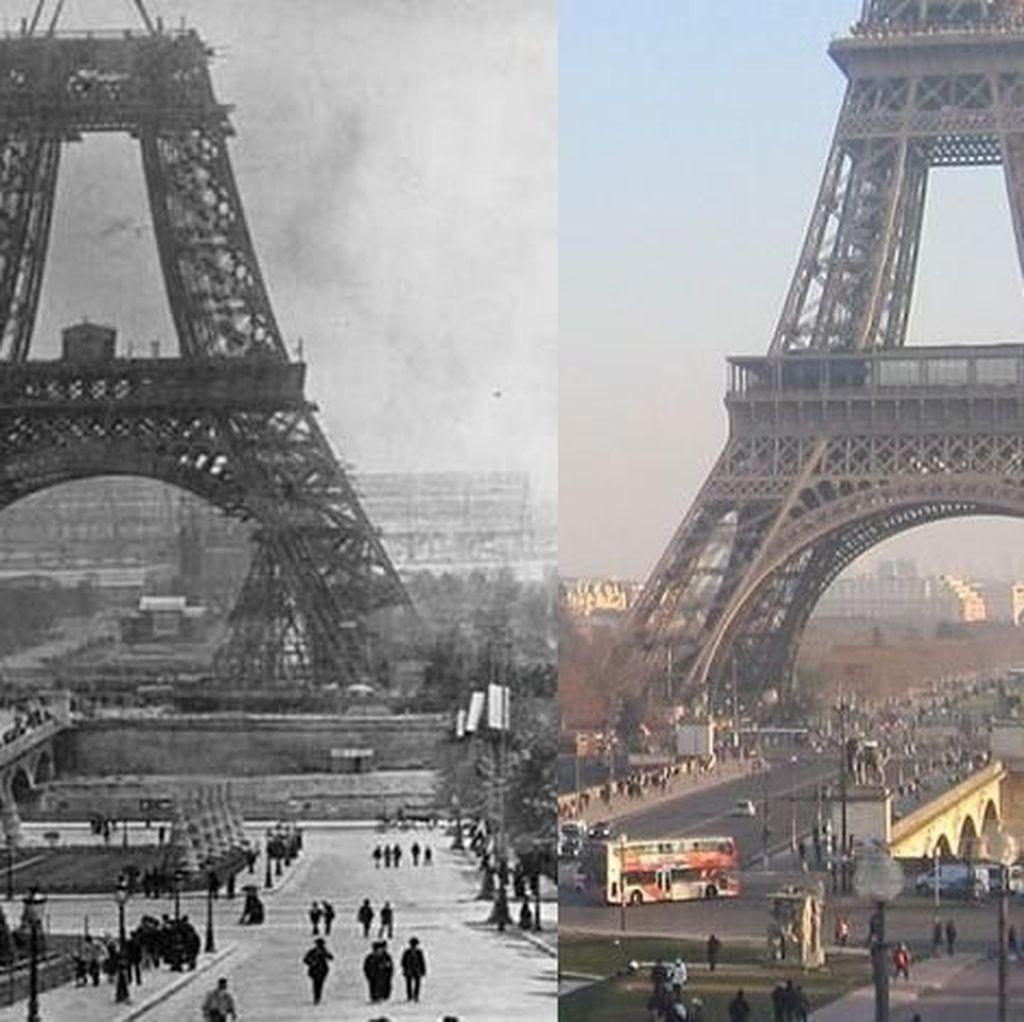 Foto Dulu dan Sekarang yang Gambarkan Perubahan Dunia