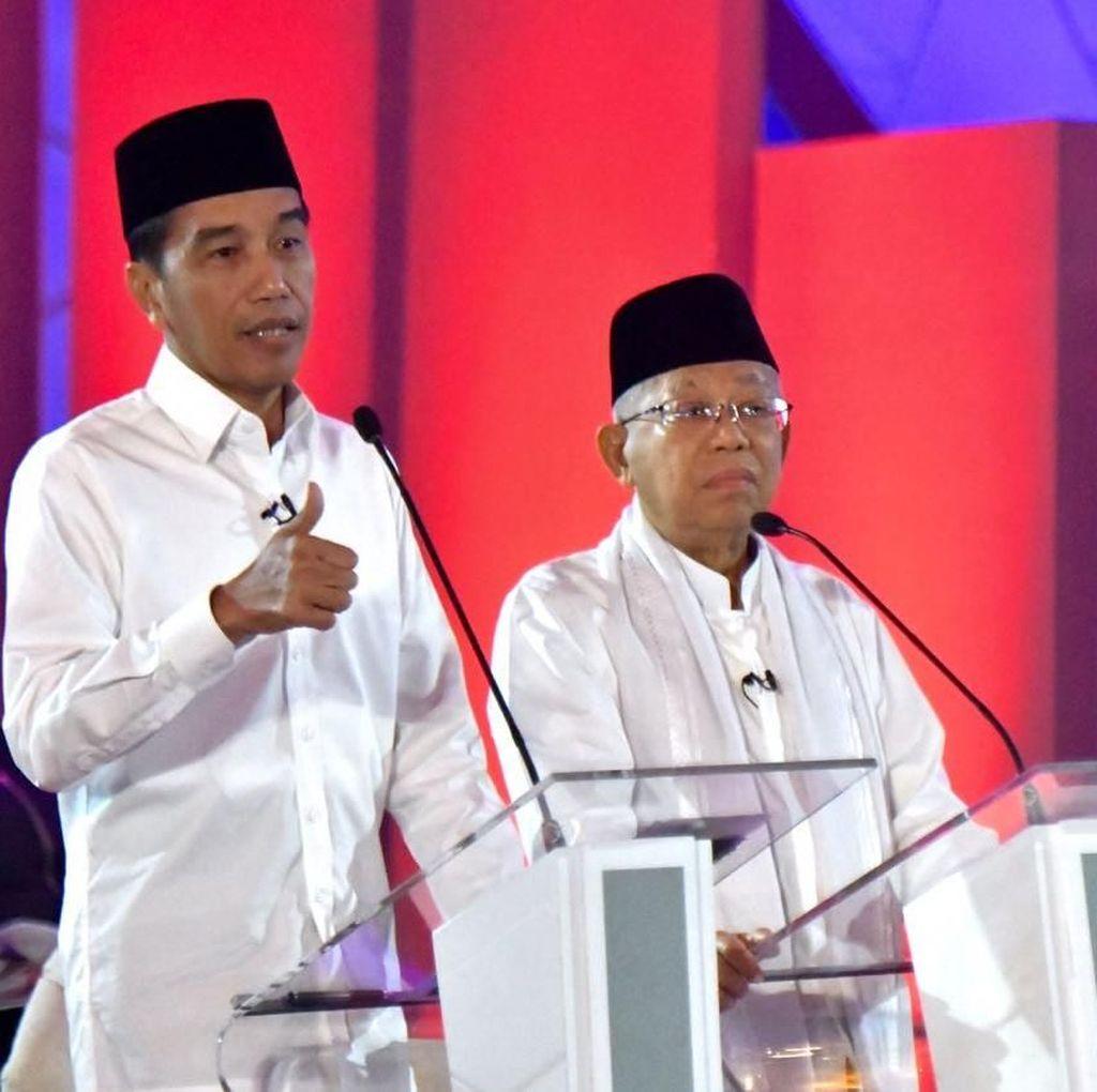 Sandiaga Tanya Aparat Hukum Berafiliasi Parpol, Jokowi Jawab Begini