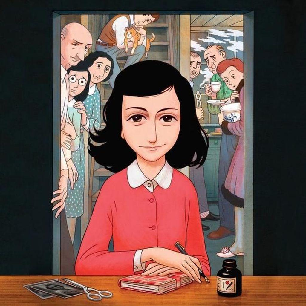 Buku Harian Anne Frank Jadi Novel Grafis, Kenang Peristiwa Holocaust