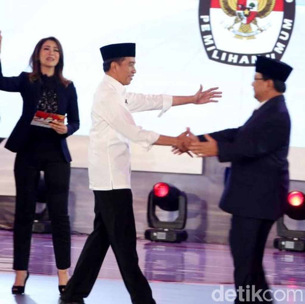 Sentimen di Twitter Pasca-Debat, Jokowi Atau Prabowo yang Lebih Positif?