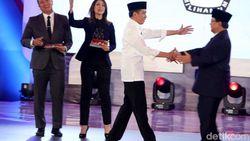4 Serangan Jokowi ke Prabowo di Debat Pilpres Perdana