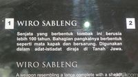 Kapak Wiro Sableng Sungguhan Ada, Tapi Disimpan di Malaysia