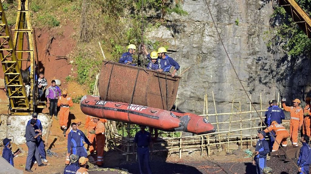 Jasad Penambang Terjebak di Lubang 65 Meter Ditemukan 36 Hari Kemudian