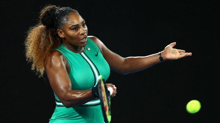 Serena Williams melangkah ke babak ketiga Australia Terbuka 2019 (Foto: Cameron Spencer/Getty Images)