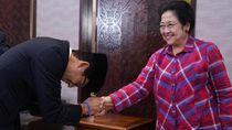 Momen Sandiaga Uno Sungkem ke Megawati Sebelum Debat Capres