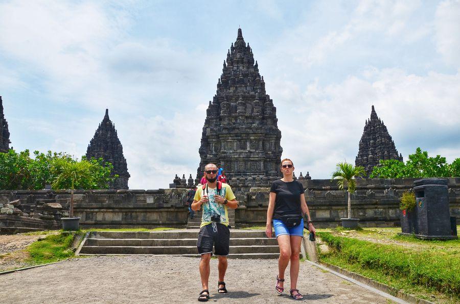Kemegahan dari Candi Prambanan selalu menarik mata wisatawan untuk datang. (Satria Nandha/detikTravel)