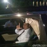 Ke Acara Debat, Prabowo Naik Alphard Dikawal Lexus