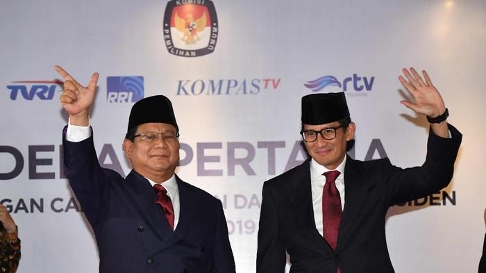 Prabowo-Sandiaga (Foto: Dok. Antara Foto/Aprillio Akbar)