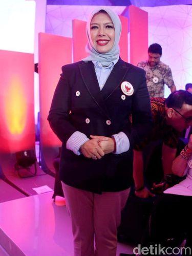 Gaya Nur Asia Uno, istri Sandiaga Uno.