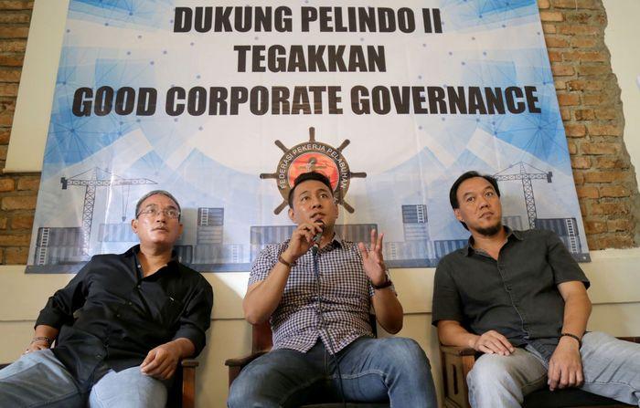 Serikat Pekerja Jakarta International Container Terminal (JICT) bersama dengan Federasi Pekerja Pelabuhan Indonesia (FPPI) mengingatkan adanya indikasi pelanggaran kontrak yang merugikan negara senilai minimal Rp 4,08 triliun. Foto: dok. SP JICT