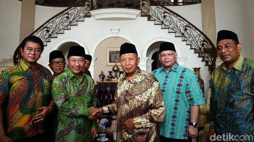 PPP Muktamar Jakarta Temui Hamzah Haz