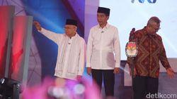 4 Kali Maruf Amin Bicara di Debat: Soal Disabilitas hingga Terorisme