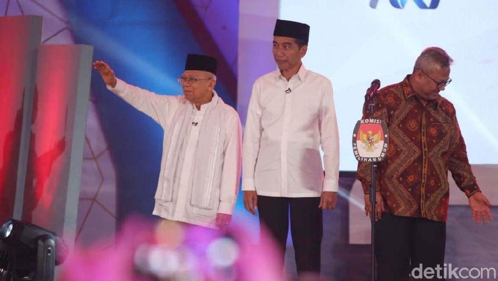Tanggapi Survei Kompas, TKN Ungkap Peran Maruf ke Elektabilitas Jokowi