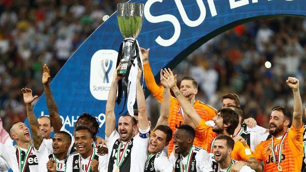 Ronaldo raih gelar pertama bersama Juventus.