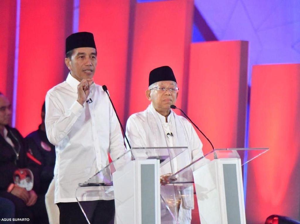 Mahfud Lumayan Puas Lihat Jokowi-Maruf Debat, Semua Masalah Dijawab
