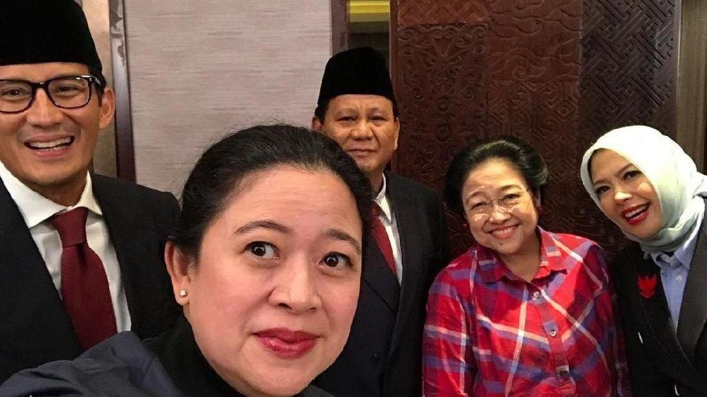 Megawati Foto Bareng Prabowo di Arena Debat Capres 2019