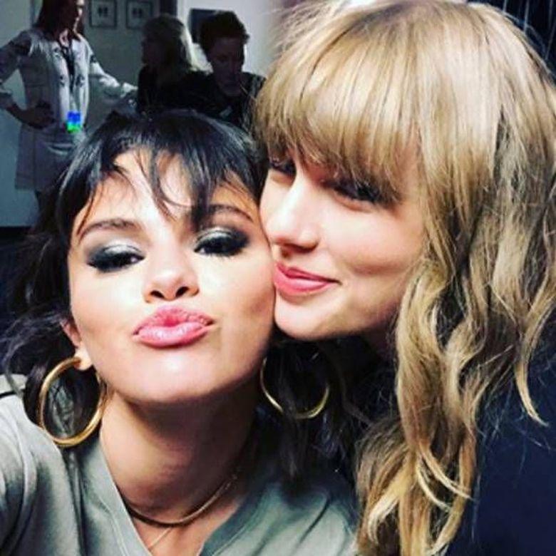 Persahabatan Selena Gomez dan Taylor Swift kerap membuat iri beberapa netizen.Dok. Instagram/taylorswift