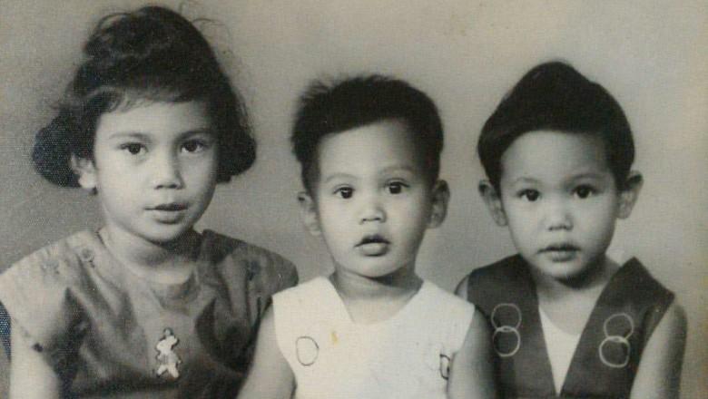 Masa kecil Prabowo bersama kedua kakaknya/ Foto: Instagram @prabowo