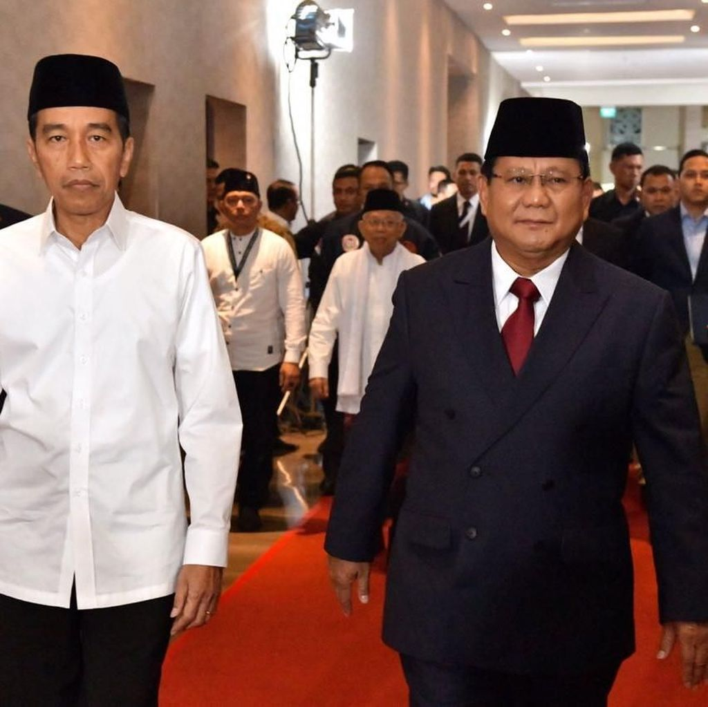 Debat Seru Jokowi vs Prabowo dan Jokowi vs Sandiaga