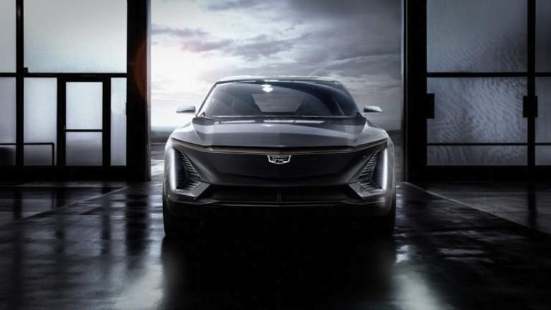 Mobil listrik dari Cadillac. Foto: Pool