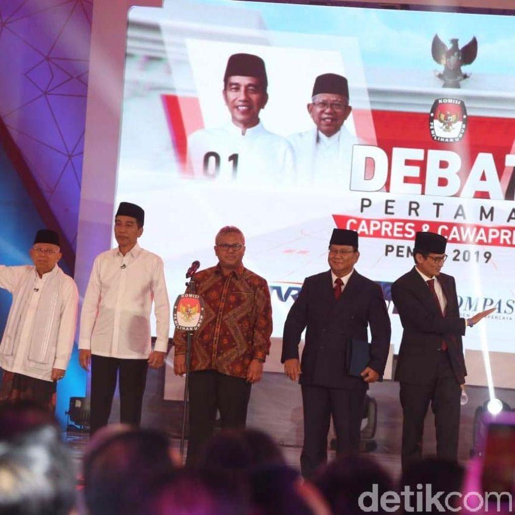 Perang Janji Prabowo dan Maruf Menekan Radikalisme