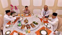 Sebelum Debat, Jokowi-Maruf Makan Malam Bareng JK