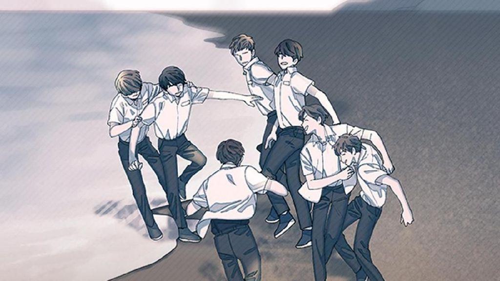Webtoon dari BTS Universe Rilis Serentak di 7 Negara