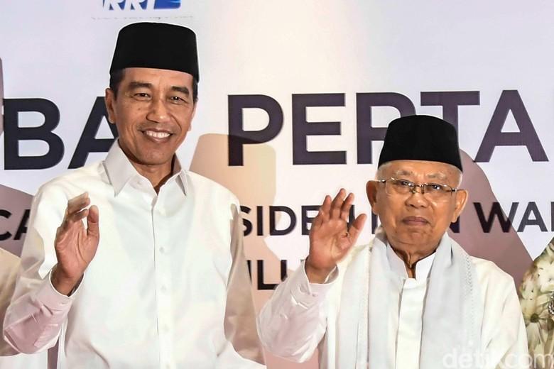 Perhatian Khusus Jokowi-Maruf Demi Elektabilitas: Jabar, DKI dan Banten