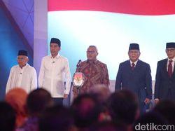 Selisih Elektabilitas Jokowi dan Prabowo Kian Tipis di Survei Median