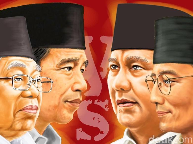Elektabilitas Turun, Jokowi Dinilai Kalah Narasi dan Militansi dari Prabowo
