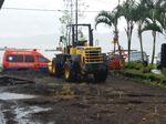 Penampakan Bukit Abang Bangli Bali Longsor