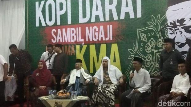 Ma'ruf: Saya dan Jokowi Harus Menang, Kalau Tak Menang Innalillahi
