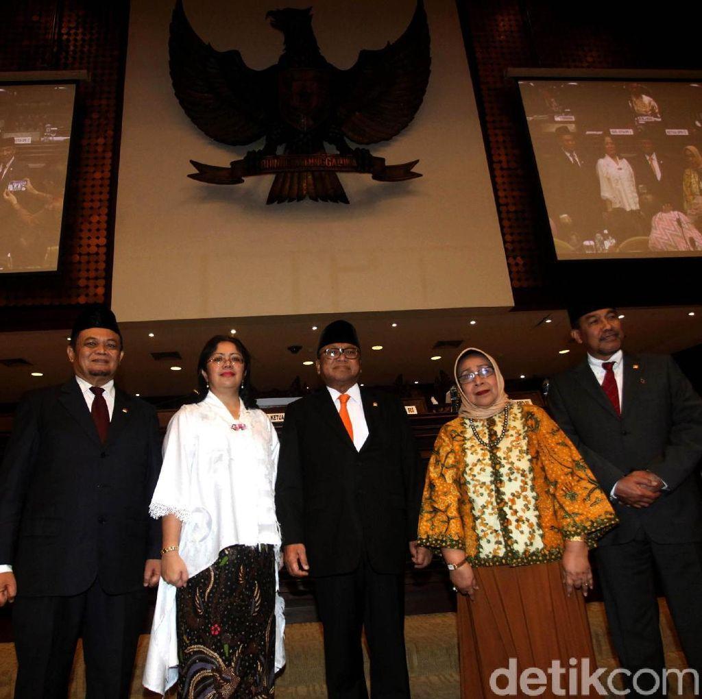 Dua Anggota PAW Dilantik di Sidang Paripurna DPD