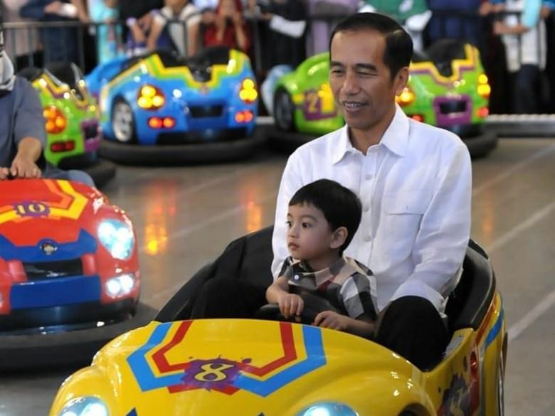 Jokowi: Saya Ajak Jan Ethes Main Boom-boom Car, Masa Dibilang Kampanye?