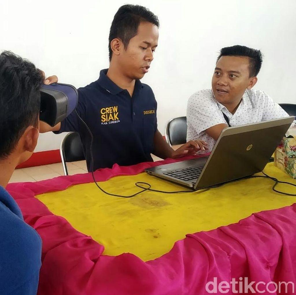 Jelang Pemilu 2019, 940 Napi Lapas Narkotika Cirebon Rekam e-KTP