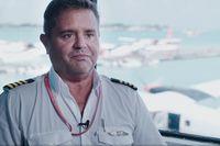 Andrew Farr, salah satu kapten pilot Trans Maldivian Airways (CNN Travel)