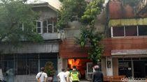 Kebakaran Landa Rumah Makan Tertua di Kota Blitar