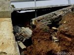 Detail Fondasi Longsor dan Retaknya Tol Pemalang-Batang KM 321