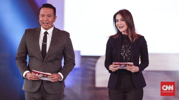 Peran moderator Imam Priyono dan Ira Koesno pada Debat pertama Pilpres 2019 dikritisi.