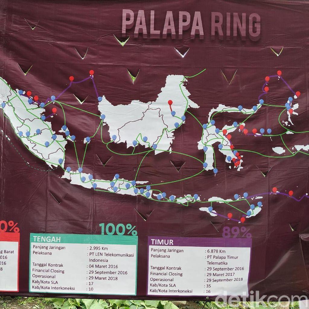 Mengenal Palapa Ring yang Disebut-sebut di Debat Pilpres 2019