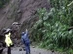 Bukit Abang Bangli Longsor, Akses Jalan 2 Desa Terputus