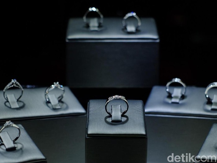 Perhiasan berlian Mielerie. Foto: Silmia Putri/Wolipop