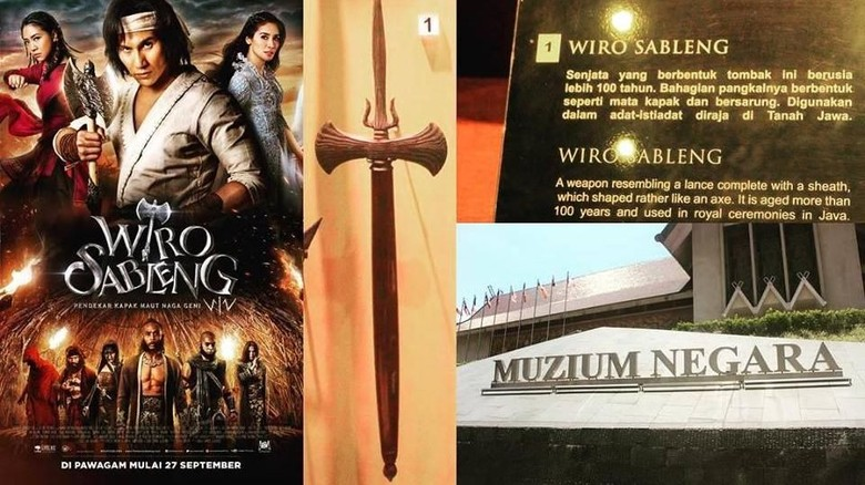 Kapak Wiro Sableng asli dalam promosi filmnya di Malaysia (20th Century Fox Malaysia/Facebook)