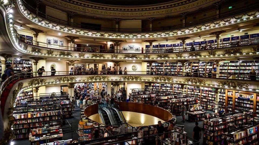Foto: Seperti Ini Toko Buku Terindah di Dunia