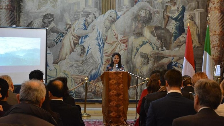 Dubes RI Sampaikan Perkembangan Kerja Sama Indonesia-Italia