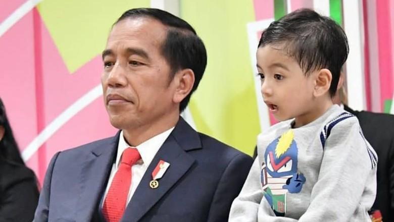 Lucunya Jan Ethes bilang Jokowi artis/ Foto: Instagram @jokowi