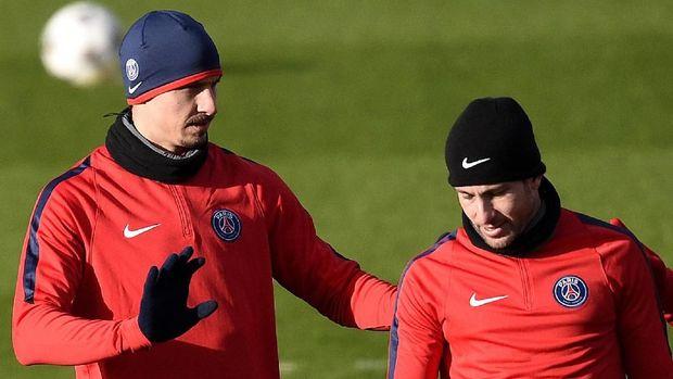Ibrahimovic dan Maxwell beberapa kali berada di satu klub.
