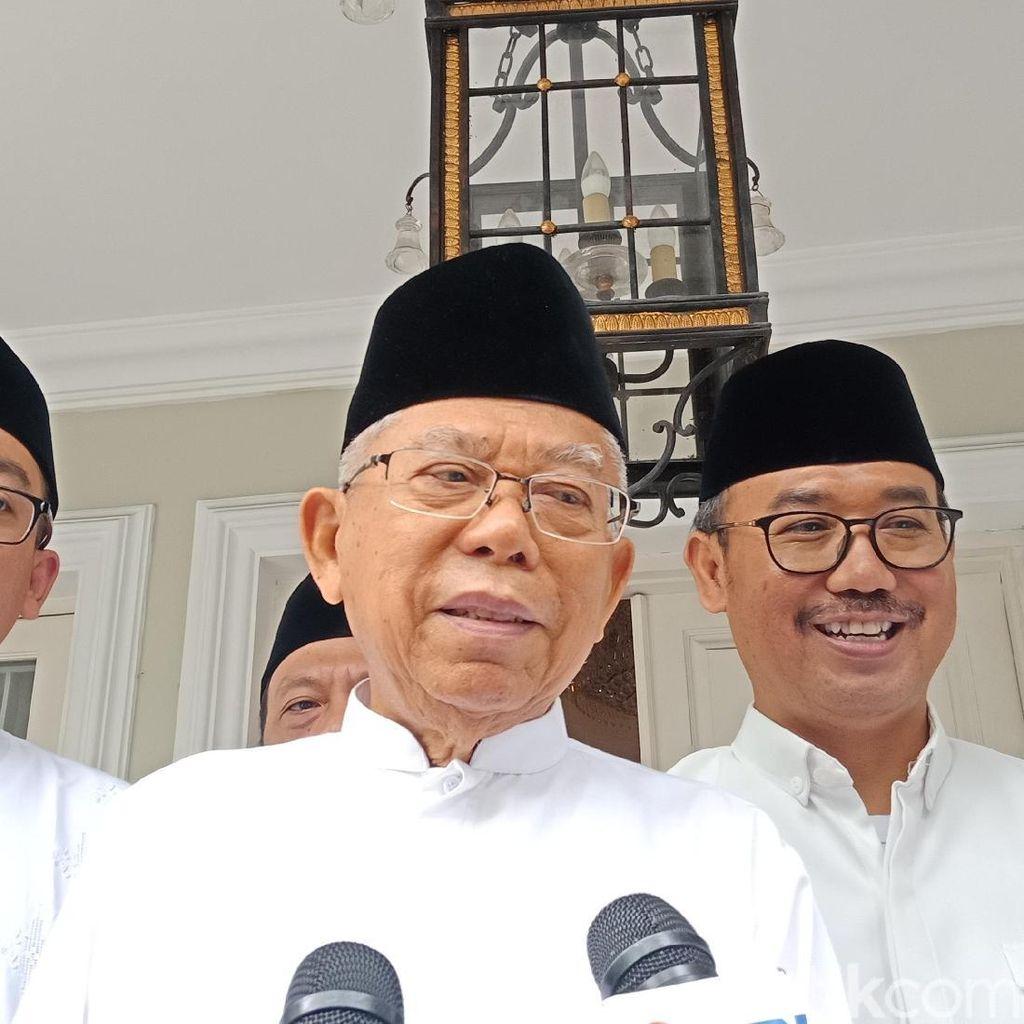 Maruf Amin Silaturahmi dengan Ulama dan Relawan di Jatim Hari Ini