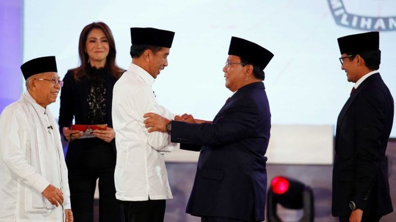 4 Serangan Prabowo ke Jokowi di Debat Pilpres Perdana