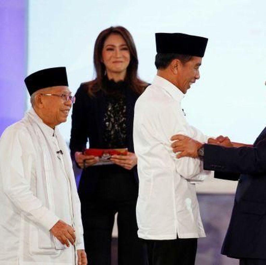 Puas Debat Pertama, Jokowi: Masukan Prabowo-Sandi untuk Perbaikan ke Depan